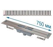 Трап APZ1001 750 мм в комплекте с решеткой Line