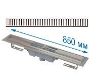 Трап APZ1001 850 мм в комплекте с решеткой Pure