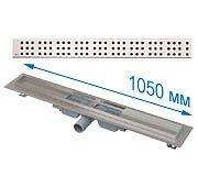 Трап APZ101 1050 мм в комплекте с решеткой Cube