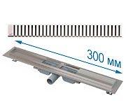 Трап APZ101 300 мм в комплекте с решеткой Line