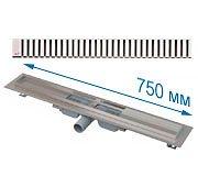Трап APZ101 750 мм в комплекте с решеткой Line