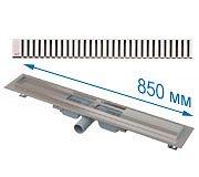 Трап APZ101 850 мм в комплекте с решеткой Line