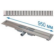 Трап APZ101 950 мм в комплекте с решеткой Line