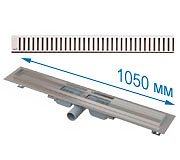 Трап APZ101 1050 мм в комплекте с решеткой Pure