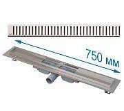 Трап APZ101 750 мм в комплекте с решеткой Pure