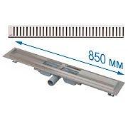 Трап APZ101 850 мм в комплекте с решеткой Pure