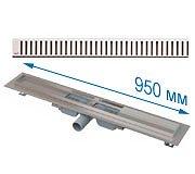 Трап APZ101 950 мм в комплекте с решеткой Pure