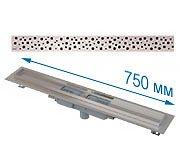 Трап APZ1101 750 мм в комплекте с решеткой Buble