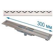 Трап APZ1101 300 мм в комплекте с решеткой Hope