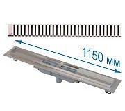 Трап APZ1101 1150 мм в комплекте с решеткой Line