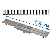 Трап APZ1101 550 мм в комплекте с решеткой Line