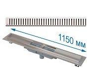 Трап APZ1101 1150 мм в комплекте с решеткой Pure
