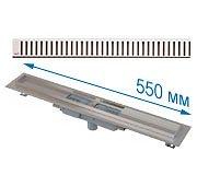 Трап APZ1101 550 мм в комплекте с решеткой Pure