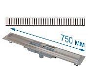 Трап APZ1101 750 мм в комплекте с решеткой Pure