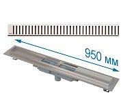 Трап APZ1101 950 мм в комплекте с решеткой Pure