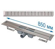 Душевой трап APZ1 850 мм в комплекте с решеткой