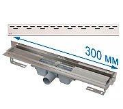 Трап APZ4 300 мм в комплекте с решеткой Hope