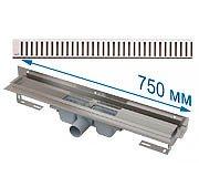 Трап APZ4 750 мм в комплекте с решеткой Pure
