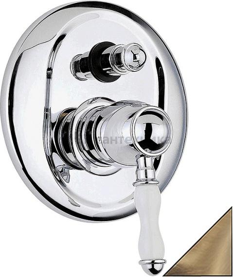 Смеситель Bandini Antico 854.620/06 Br С ВНУТРЕННЕЙ ЧАСТЬЮ, для душа аквародос мебель в ванную