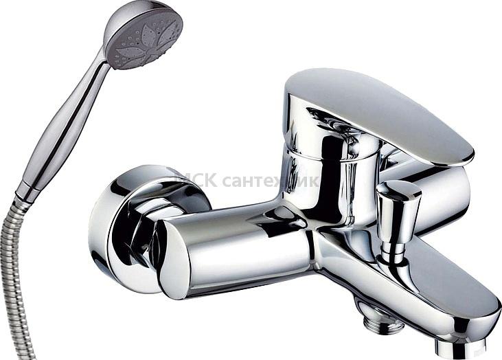 Смеситель Clever Bahama Xtreme 98177 для ванны с душем