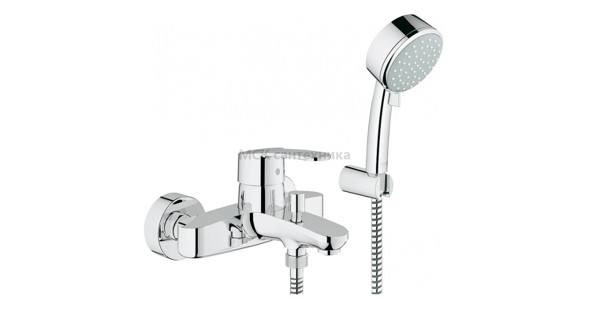 Смеситель Grohe Eurostyle Cosmopolitan 33592002 для ванны с душем