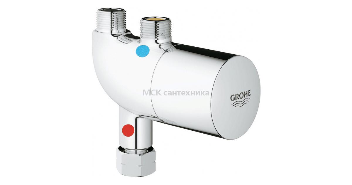 Смеситель Grohe Grohtherm Micro 34487000 с термостатом
