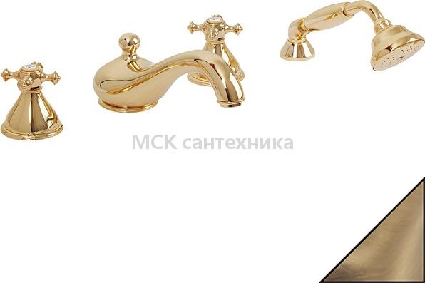 Смеситель Migliore Prestige ML.PRS-781 Br на борт ванны