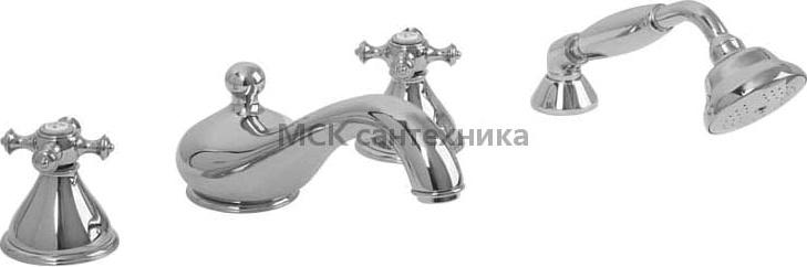Смеситель Migliore Prestige ML.PRS-781 Cr на борт ванны