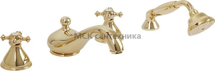Смеситель Migliore Prestige ML.PRS-781 Do на борт ванны