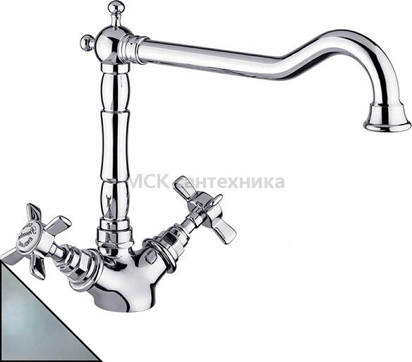 Смеситель Migliore Princeton ML.CUC-851 CsCr для кухонной мойки смеситель для кухни со шлангом купить