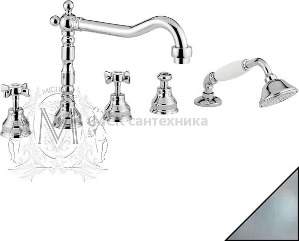 Смеситель Migliore Princeton ML.PRN-880 CsCr на борт ванны