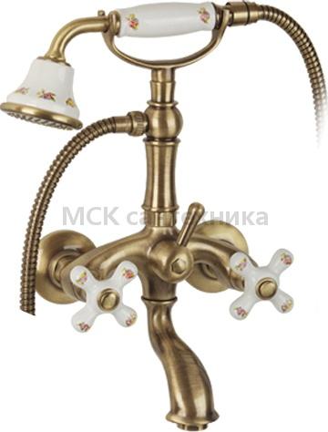 Смеситель Migliore Provance ML.PRO-8802 Br для ванны с душем