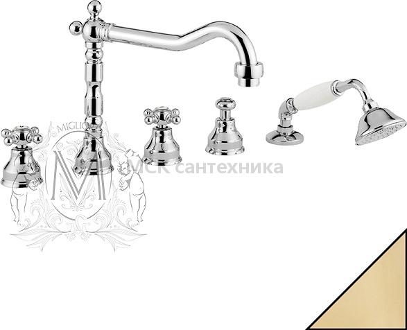Смеситель Migliore Revival ML.REV-480 Do на борт ванны