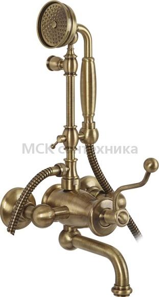 Смеситель Migliore Vivaldi ML.VIV-9902 Br для ванны с душем