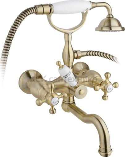 Смеситель Timo Nelson 1944Y-CR Antique для ванны с душем ричмонд мебель для ванной