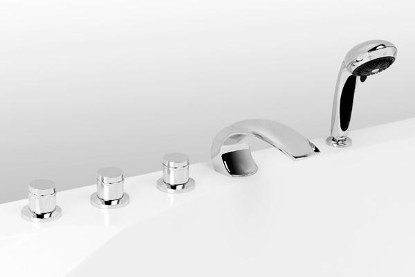 Смеситель для ванны Arco Lux (5 эл.)